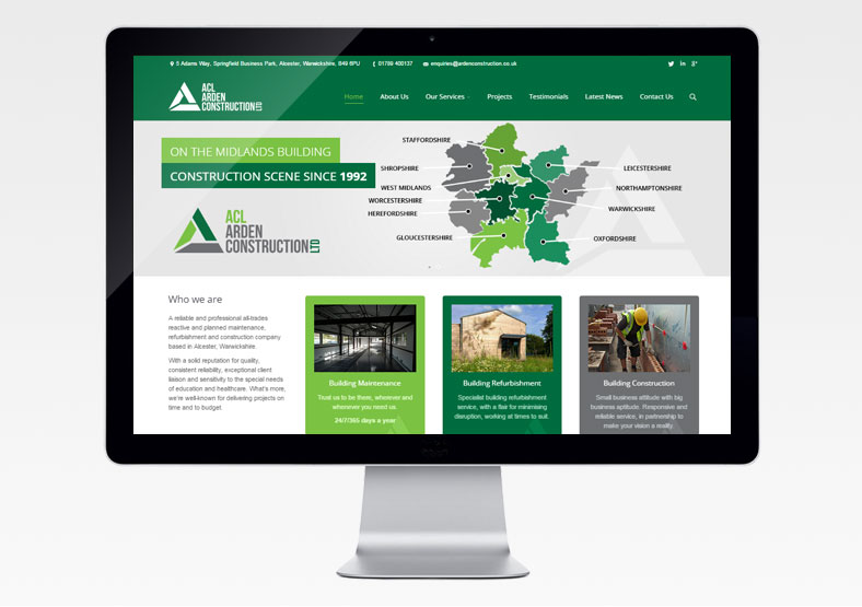 Arden_Construction_website