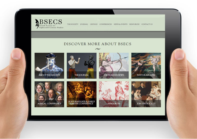 BSECS website design and build