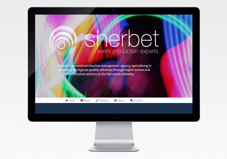 leamington web design - sherbet