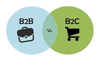 differences between B2C and B2B social media marketing