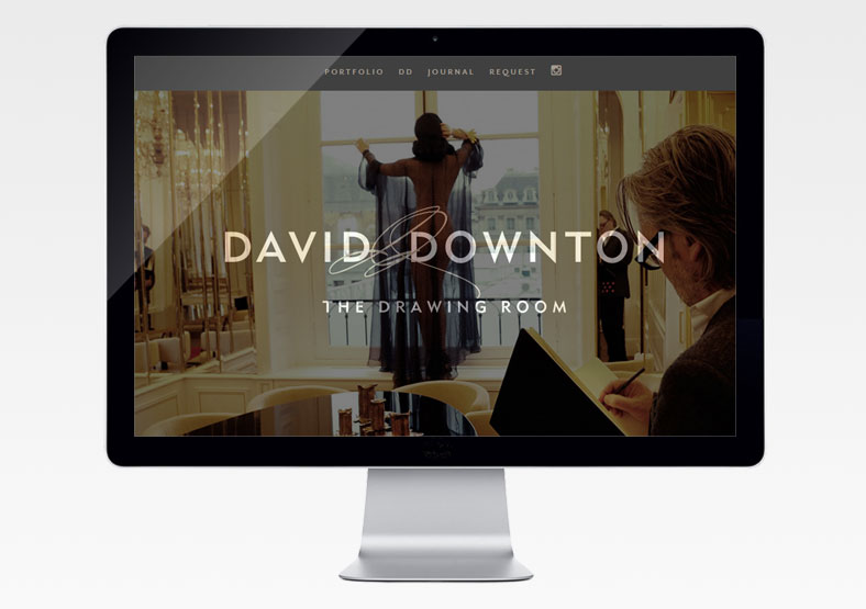 David Downton website development