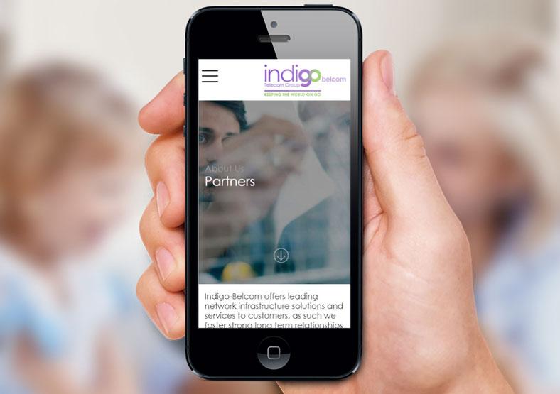 Indigo Telecom Group website design