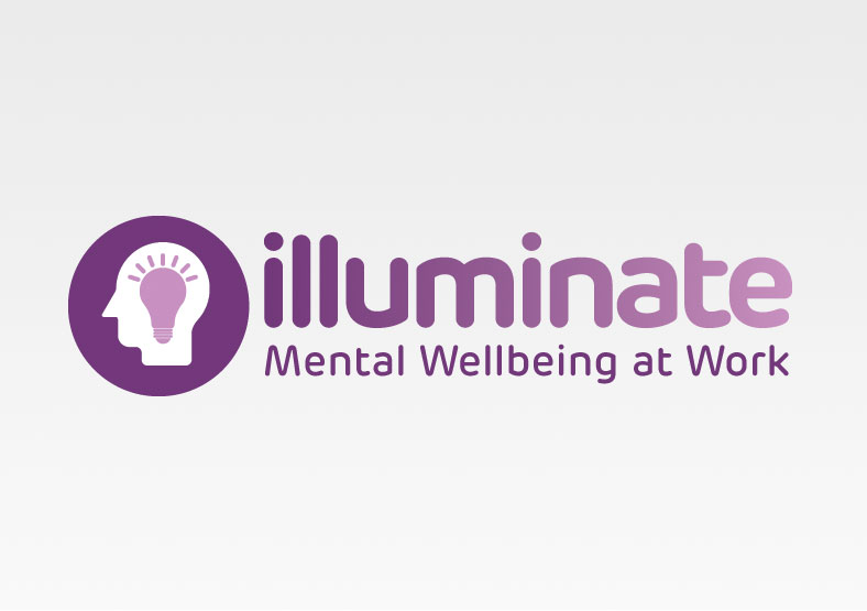 illuminate logo branding