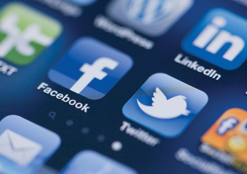 Charity social media