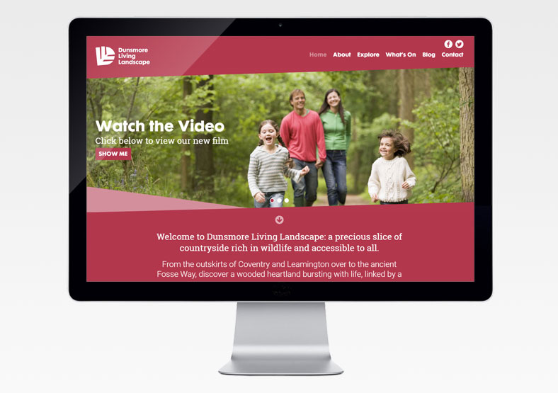 Warwickshire Wildlife Trust website development