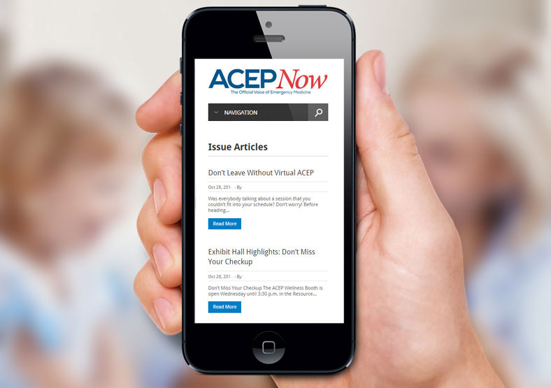 ACEP Now Web design midlands