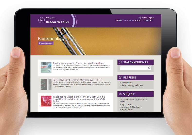 Publishing website design and build