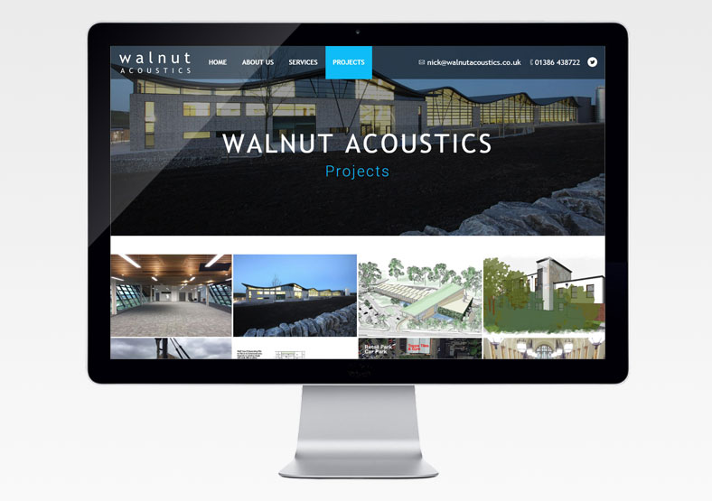 Walnut Acoustics website build