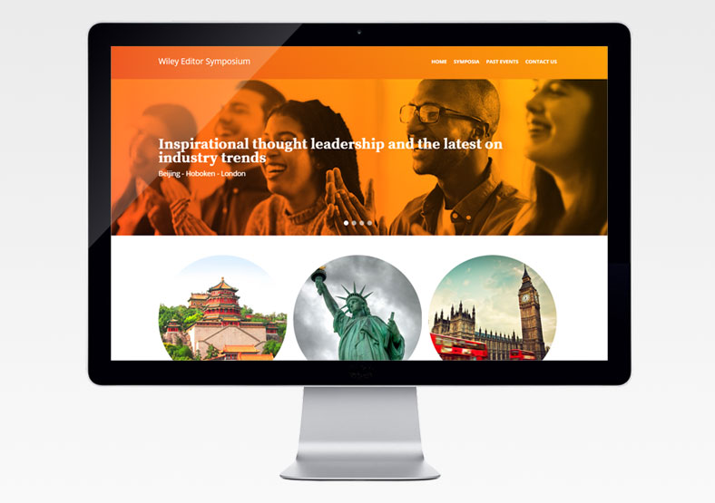 Wiley website design Warwickshire