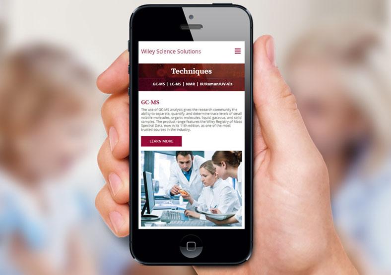 Wiley website design Warwickshire