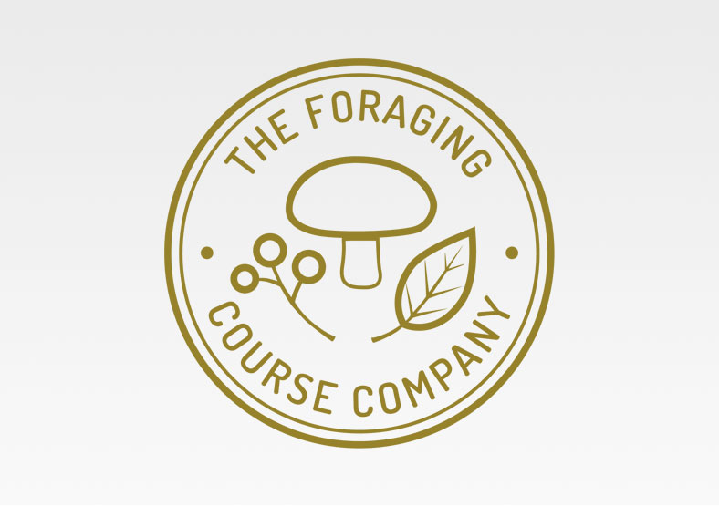 The Foraging Course Company logo design