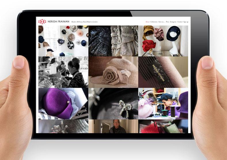 Nerida Fraiman website development Leamington Spa