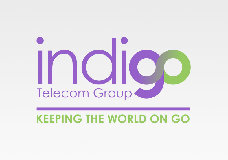 Indigo Telecom Group logo design