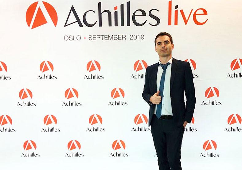 AchillesLive graphic design exhibition stands