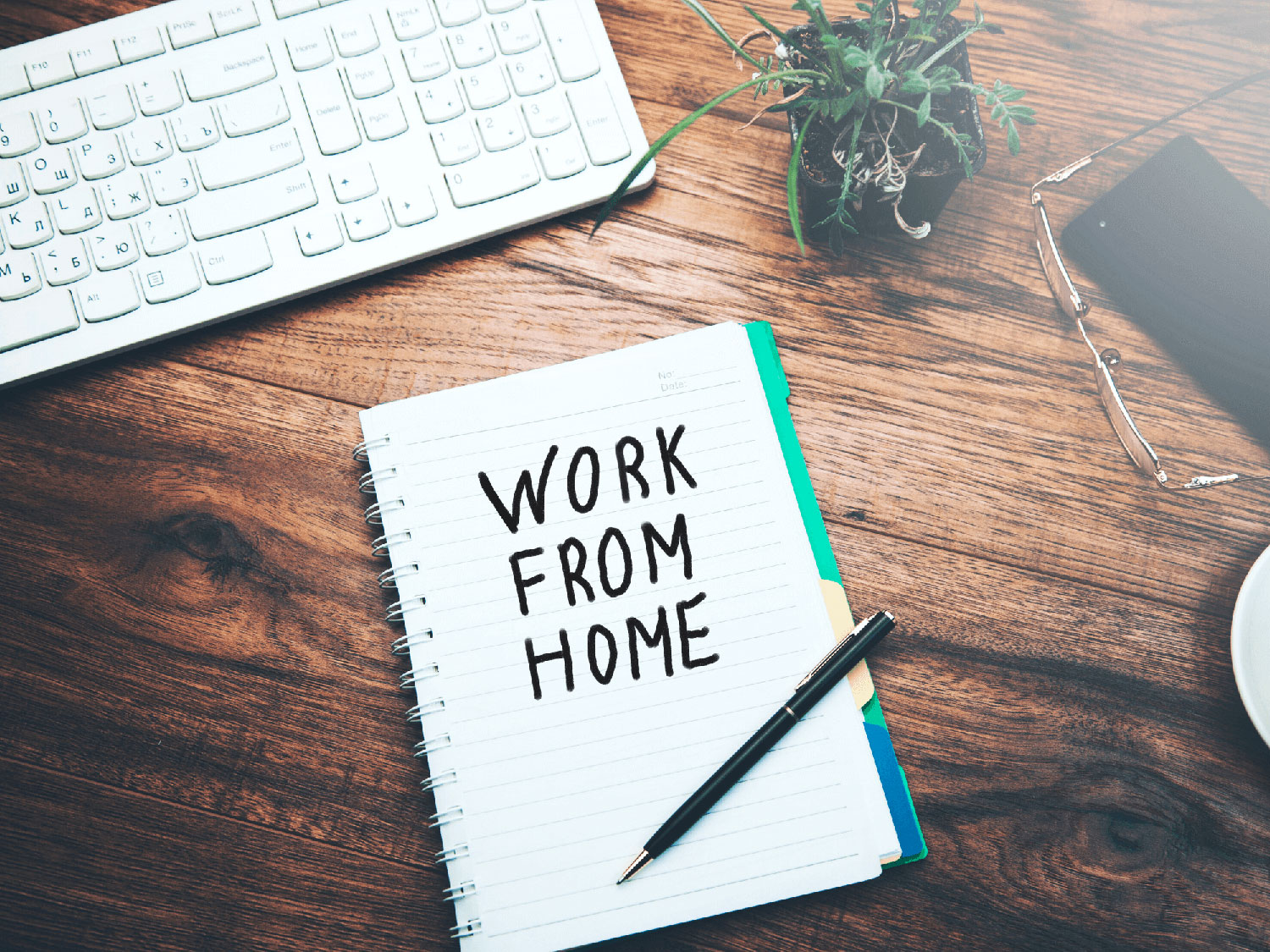 Work from home during the pandemic