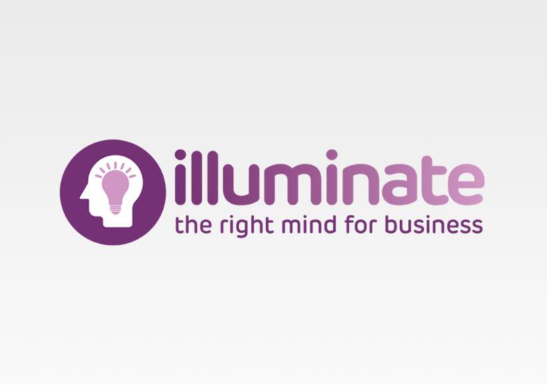 Illuminate logo design