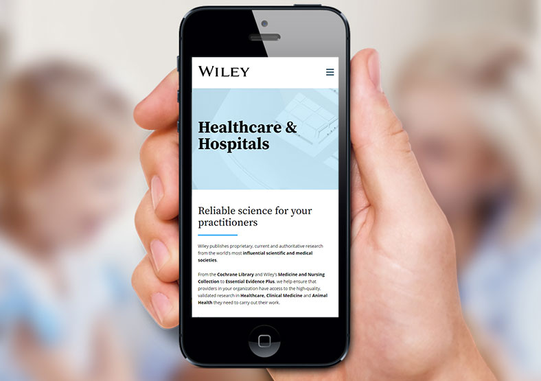 Wiley Research and Development website