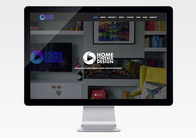 Home Cinema Design website